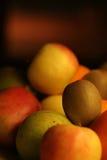 Plaque de fruit Images stock