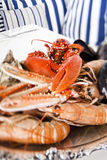 Plaque de fruits de mer Image stock