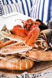 Plaque de fruits de mer Image stock