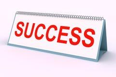 Plaque de lettre (réussite) Images stock