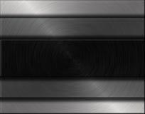 Plaque de métal Photographie stock