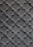Plaque de métal avec plats tordus Image libre de droits
