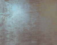 Plaque de métal balayée d'alluminium Images stock