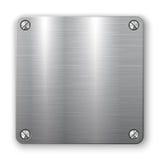 plaque de métal 3D Photo stock