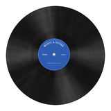 Plaque de phonographe Image libre de droits