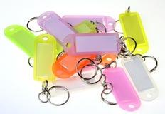 Plaque de porte-clés Images stock
