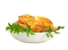 plaque de poulet Photographie stock libre de droits