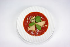 Plaque de repas dinant fin image stock