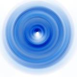 Plaque de rotation bleue Images libres de droits