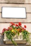 Plaque de rue Photographie stock libre de droits
