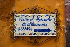 Plaque de rue de vintage Photographie stock libre de droits