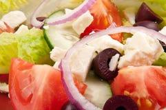 Plaque de salade pour le style de vie sain Photographie stock