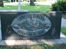 Plaque de sous-marin des USA Photos libres de droits