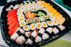 Plaque de sushi Image libre de droits