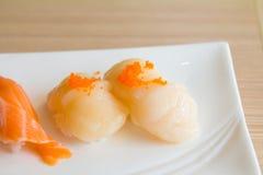 Plaque de sushi Photographie stock libre de droits