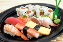 Plaque de sushi photo stock