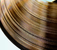 Plaque de vinyle Image libre de droits