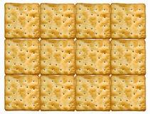 Plaque des biscuits Images stock