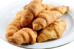 Plaque des croissants Image stock