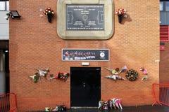Manchester, UK Manchester United air crash memorial.