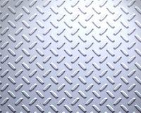 plaque en acier intense de diamant Image libre de droits