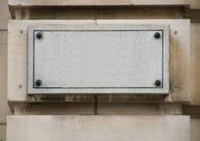 Plaque en pierre Photographie stock libre de droits