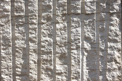 Plaque en pierre forée et éclatée photos stock