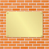 Plaque Royalty Free Stock Images