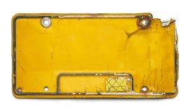 Plaque minéralogique Image libre de droits