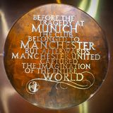 A plaque at Old Trafford in memory of the Munich air disaster in 1958