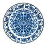Plaque persane antique de conception Photographie stock libre de droits