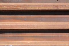 Plaque rouillée de fer Images stock