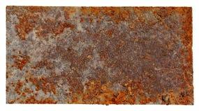 Plaque rouillée en métal Image libre de droits