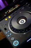 Plaque tournante du DJ images stock