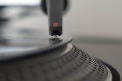 Plaque tournante record du DJ Image libre de droits