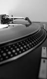 Plaque tournante record du DJ Images stock