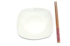 Plaque vide pour des sushi Image libre de droits