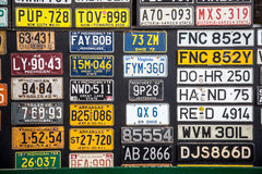 plaques Photo libre de droits
