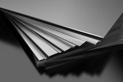 Plaques de métal Photographie stock libre de droits