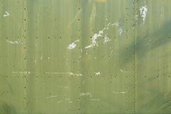 Plaques de métal vertes Images libres de droits
