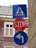 Plaques de rue images libres de droits