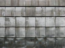 Plaques en métal de carrelage Photos libres de droits