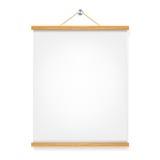 Plaquette en bois verticale Photos libres de droits