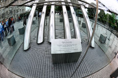 Plaquette Peter Korevaar - het oog van Londen Royalty-vrije Stock Afbeelding