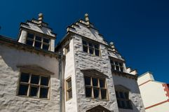 Plas mawr,close up. Plas mawr elizabethan town house Stock Image