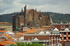 Plasencia cathedral 01 Royalty Free Stock Photos