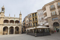 Plasencia Main Square Royalty Free Stock Photo