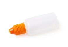 Plasic una bottiglia da 30 ml isolata Immagine Stock
