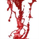 Plaska för blod Royaltyfria Bilder