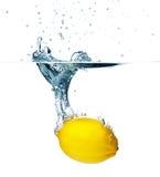 Plaska för citron royaltyfria foton
